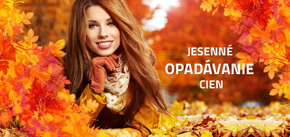jesenné opadávanie cien